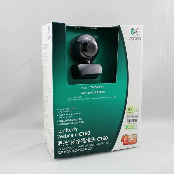 Logitech Webcam C160; Built-in microphone; 1.3-mega