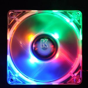 Colorful 120mm Case Fan with LED