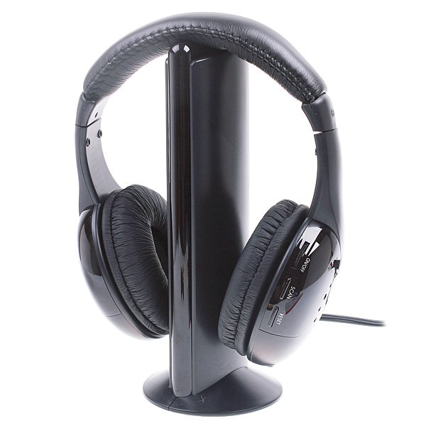 5 in 1 Wireless Stereo Hi Fi Headphone