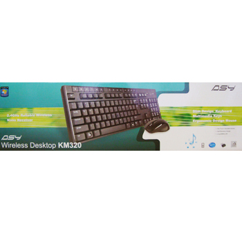 ASY COMBO Wireless Desktop KM320