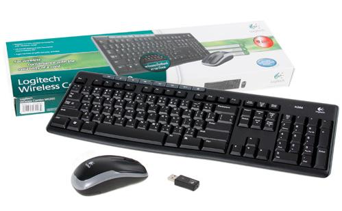 English Logitech Wireless Desktop Combo MK260