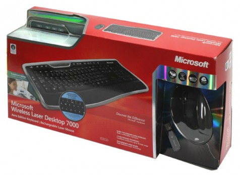 Microsoft Laser Desktop 7000 Wireless KB