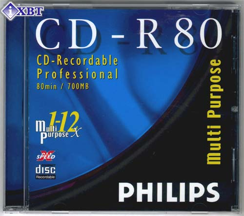 PHILIP CD-R SINGLE with cake box