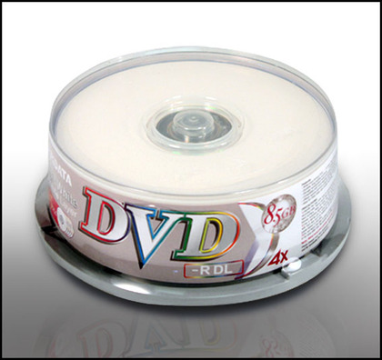 Ridata DOUBLE LAYER DVDR-, 25pcs/pack