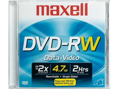 REWRITABLE DVD 1pc/PACK WITH CASE