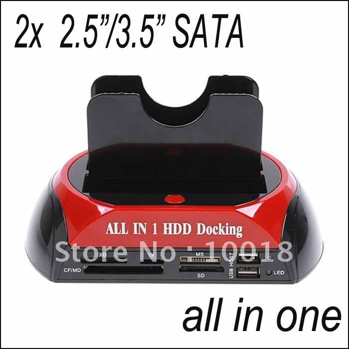 All in one SATA/IDE HDD 2-Dock Docking Station