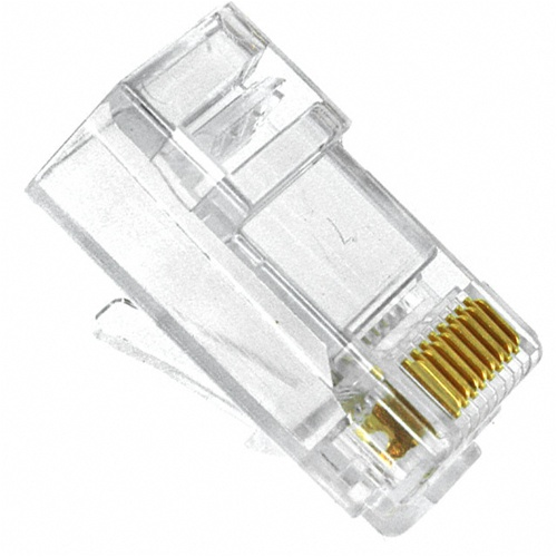 CAT5 RJ 45 8 Positions 8 Cconductor Modular Plug
