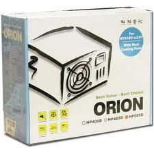 Orion 585W Power Supply Dual Fan