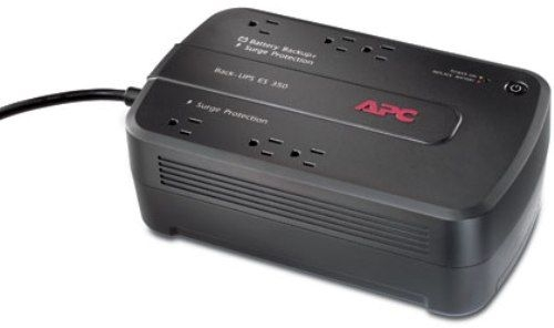 APC Back-UPS ES 350 - UPS - AC 120 V - 200 Watt - 350 VA - 6 out