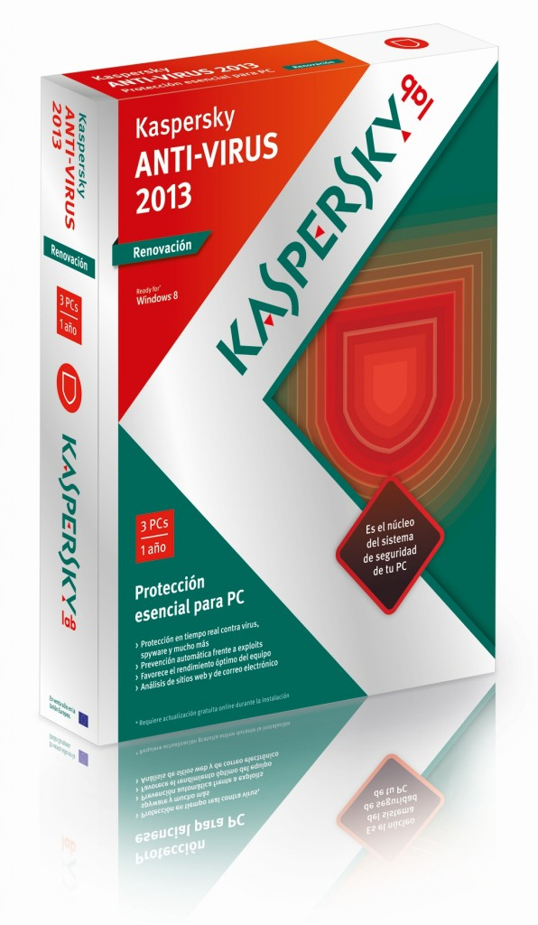2013 KASPERSKY ANTIVIRUS 3 USER Bilingual