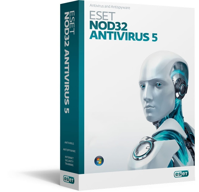 ESET NOD32 2012 ANTI-VIRUS VERSION - 5.0 W/ MEDIA-CD RETAIL