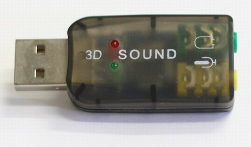 USB Audio Sound Dongle
