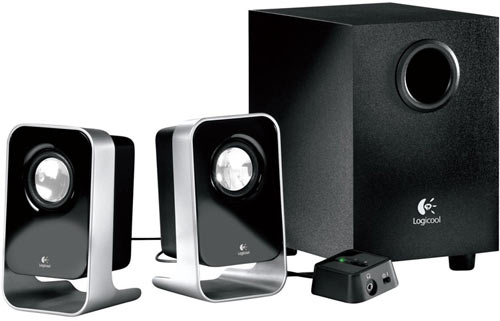 Logitech LS21, 2.1 PC multimedia speaker