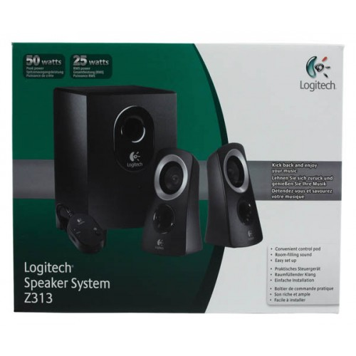 Logitech Z 313 - 2.1-channel PC multimedia speaker system