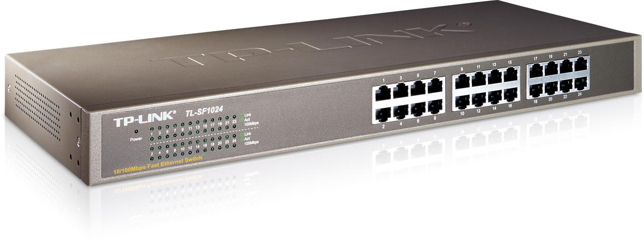 TP Link 24-port 10/100M Switch