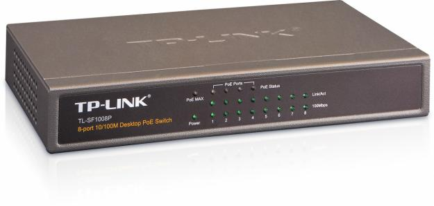 tp-link 8 port 10m/100m swith