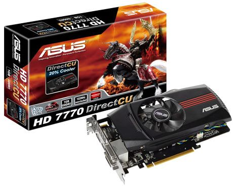 Asus HD7770-DC-1GD5 Radeon HD 7770 Graphic Card