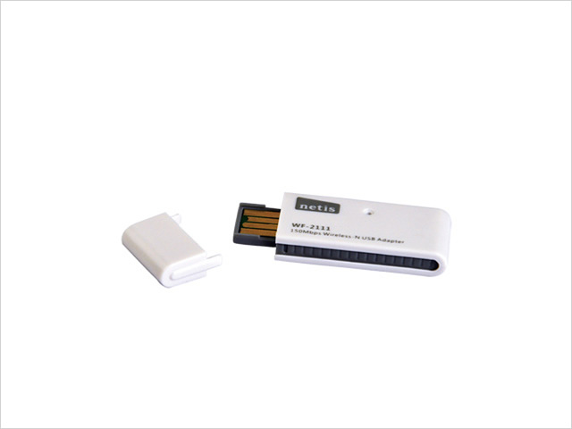 Netis WF-2111 150Mbps wireless N USB adapter (internal antenna)