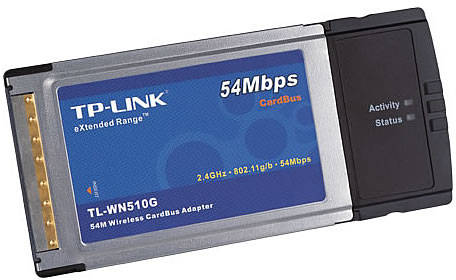 TP Link 54M Wireless CardBus Adapter