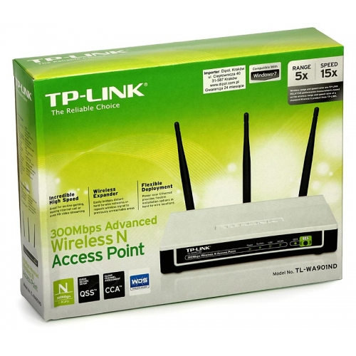 TP-LINK WA901ND 300Mbps Advanced Wireless N Access Point